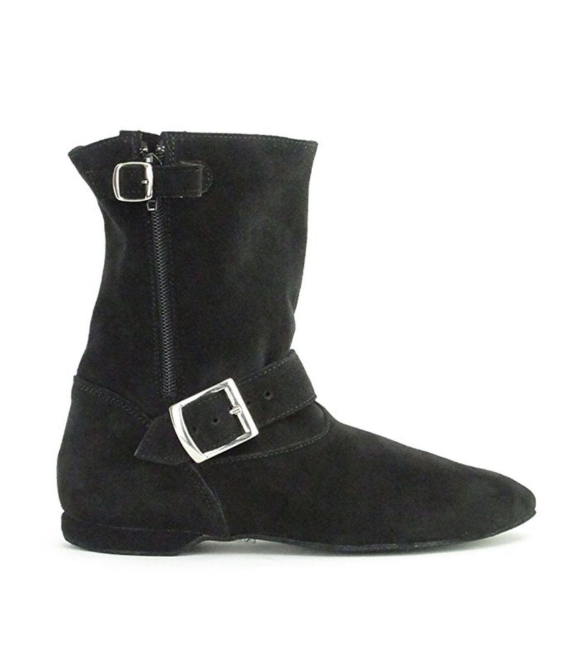 Bottines de West Coast - Daim Noir
