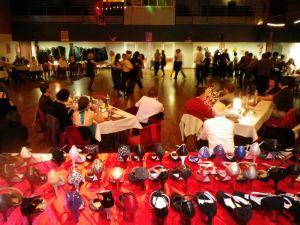 Expositions de chaussures de danse de salon salsa tango for Danse de salon annecy